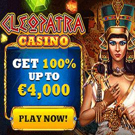 cleopatra casino bonus